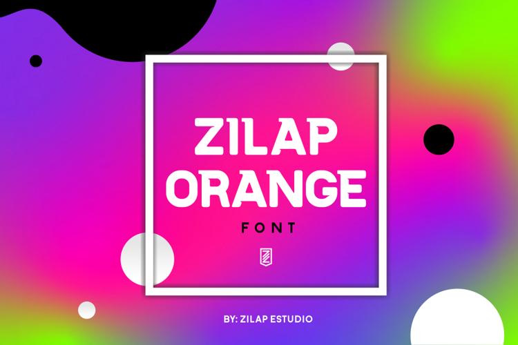 Zilap Orange Font
