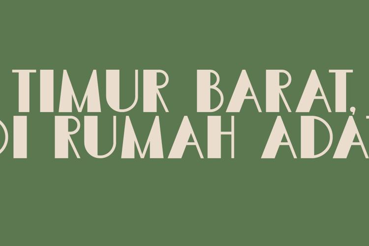 DK Semarang Kolonial Font