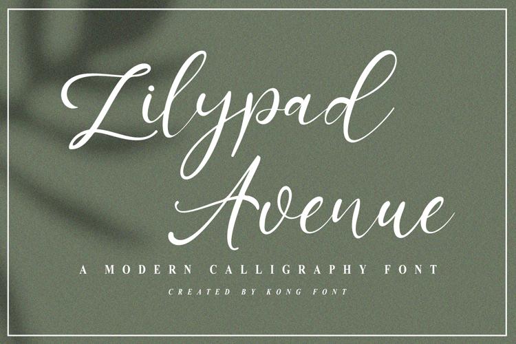 Lilypad Avenue Font