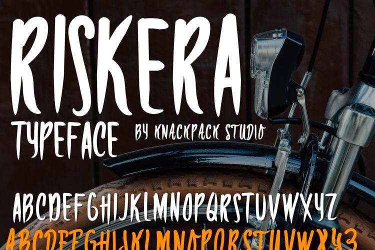 RISKERA DEMO Font