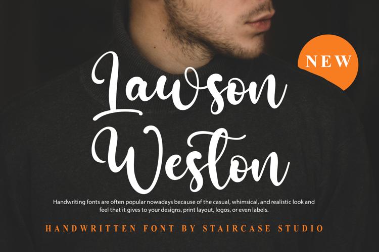 Lawson Weston Font