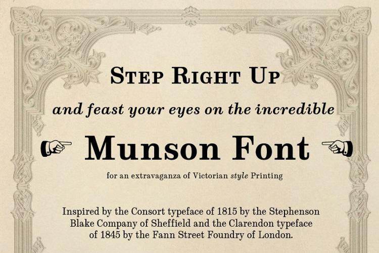 Munson Font