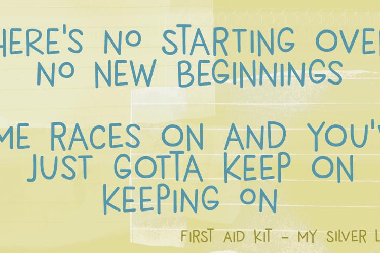 DK New Beginnings Font