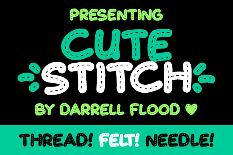 Cute Stitch Font