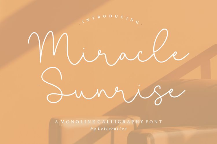 Miracle Sunrise Font