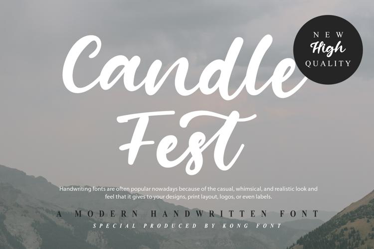 Candle Fest Font
