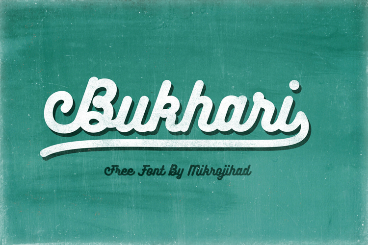 Bukhari Script Font