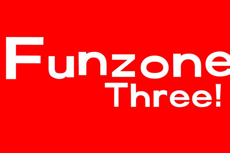 FunZone Three Font
