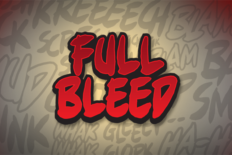 Full Bleed BB Font