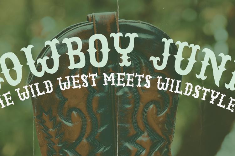 Cowboy Junk DEMO Font