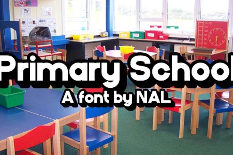 PrimarySchool Font