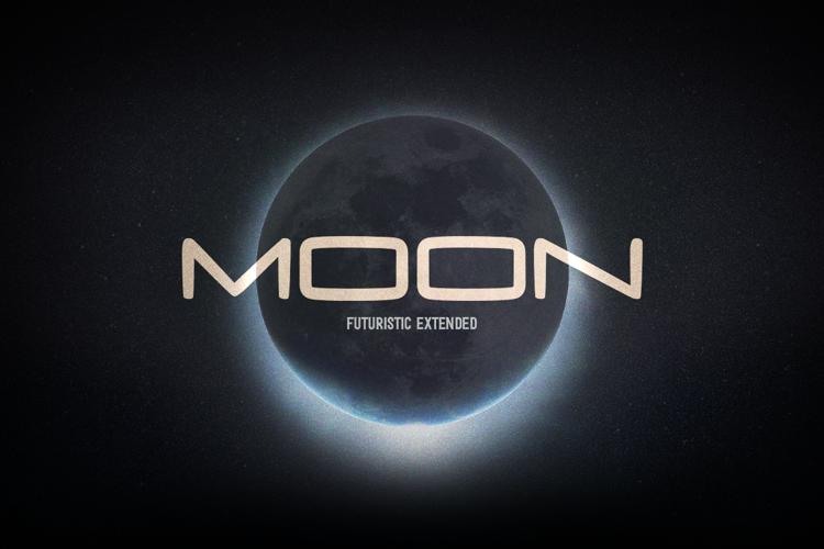 Moon Hand Font