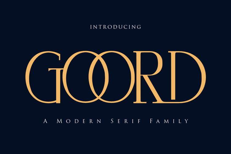 goord Font