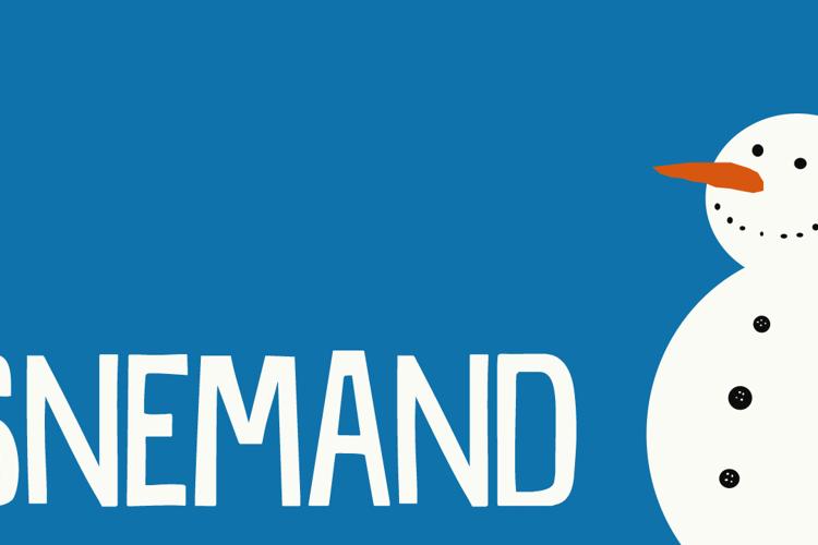 DK Snemand Font