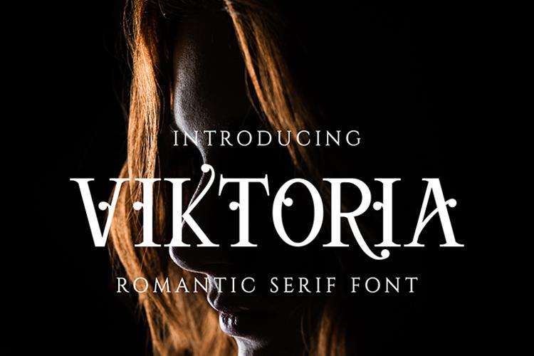 Viktoria Serif Font