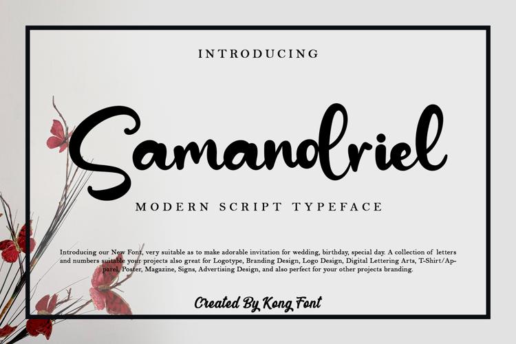 Samandriel Font