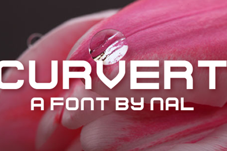 Curvert Font
