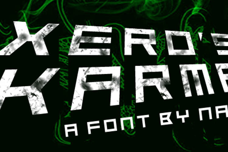 Xero's Karma Font