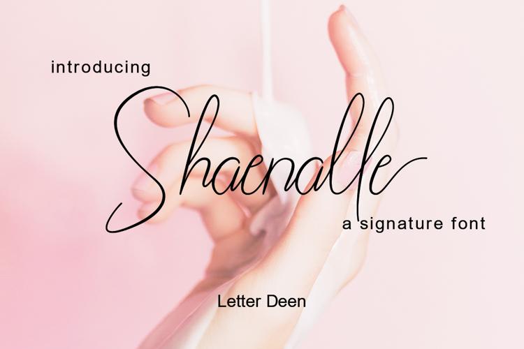 Shaenalle Font