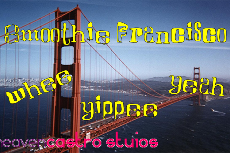Smoothie Francisco Font