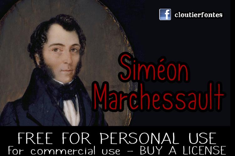CF Simon Marchessault Font