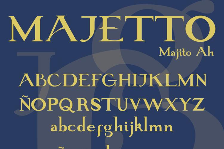 Majetto Font