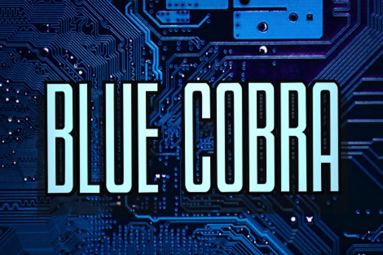 Blue Cobra Font