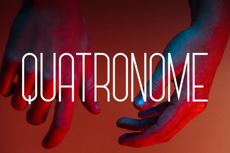 Quatronome Font