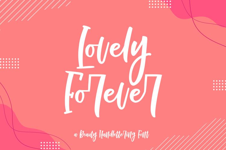 Lovely Forever Font