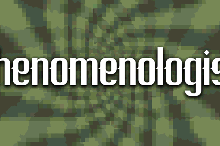 Phenomenologist Font