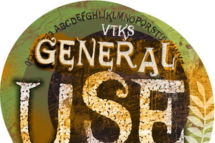 VTKS GENERAL USE Font