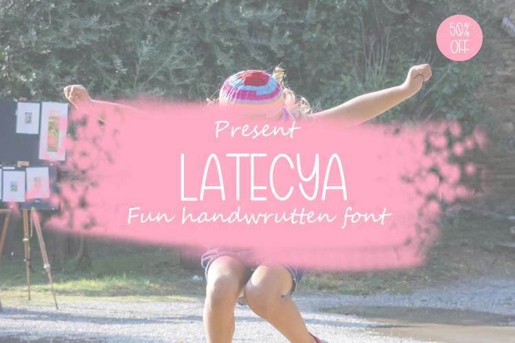 Latecya Font
