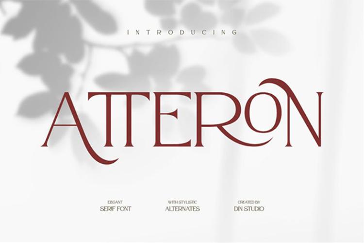 Atteron Font