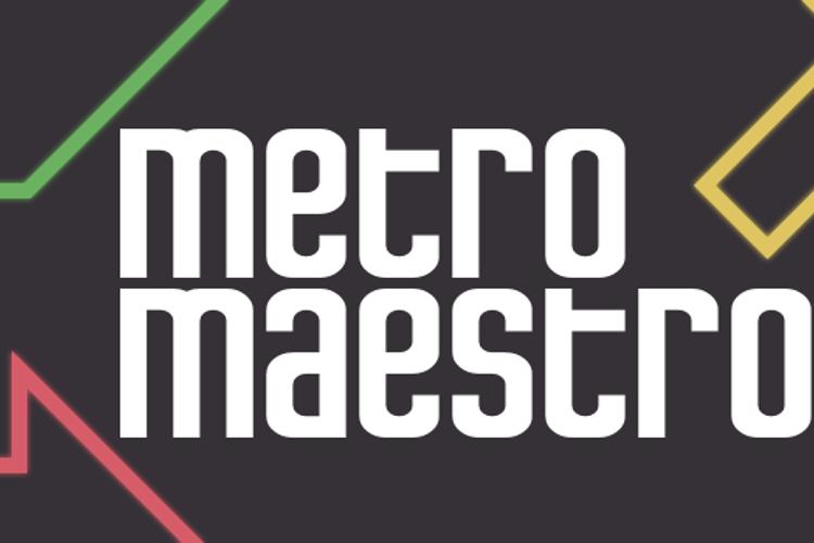 Metro Maestro Font