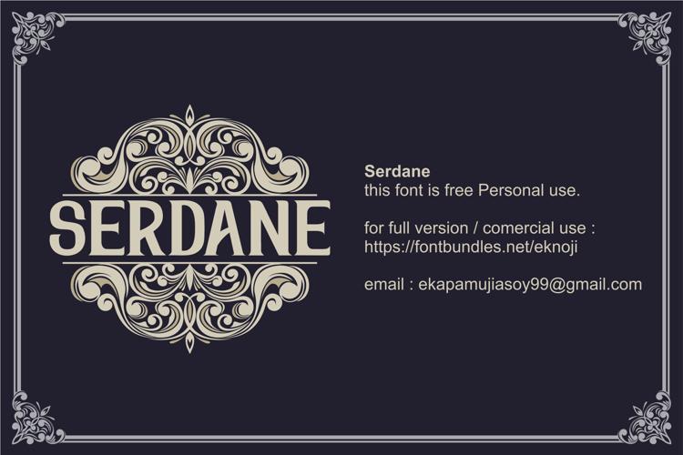 Serdane Font