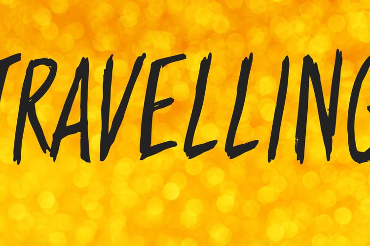 Travelling Font