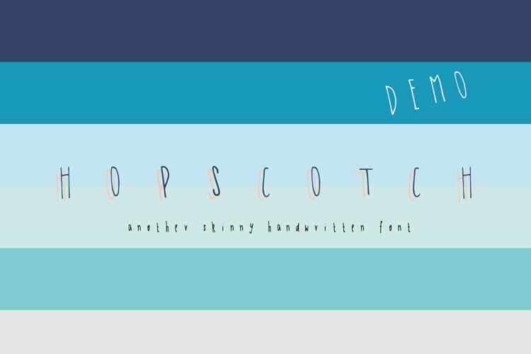 Hopscotch DEMO Font