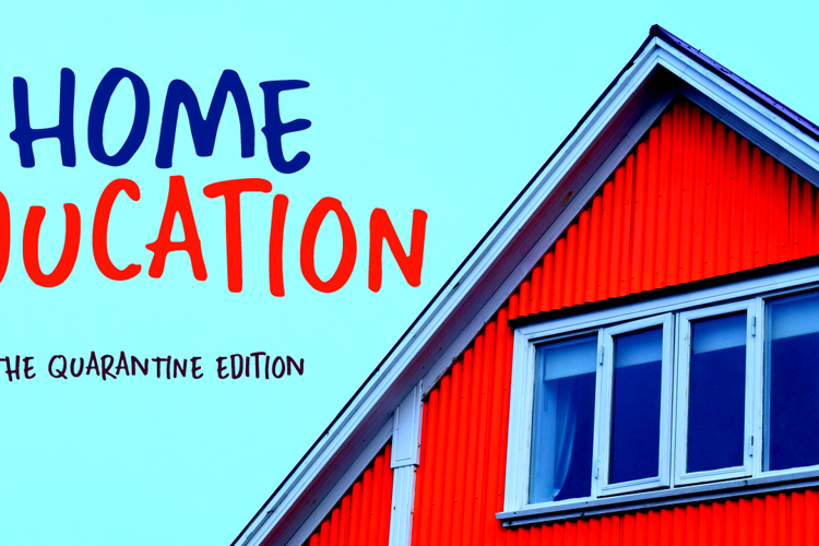 Home Education Font