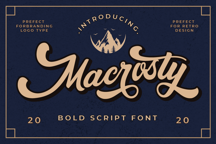 Macrosty Font