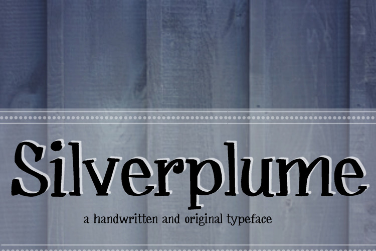 MRF Silverplume Font