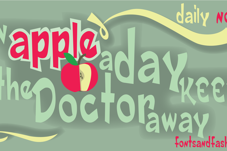 DAILY DEMO NORMAL Font