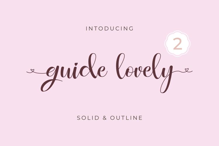guidelovely Font