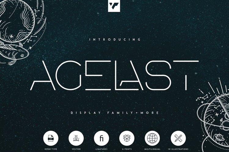 AGELAST Font