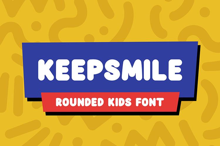 Keepsmile Font