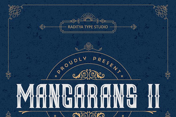 Mangarans II Font