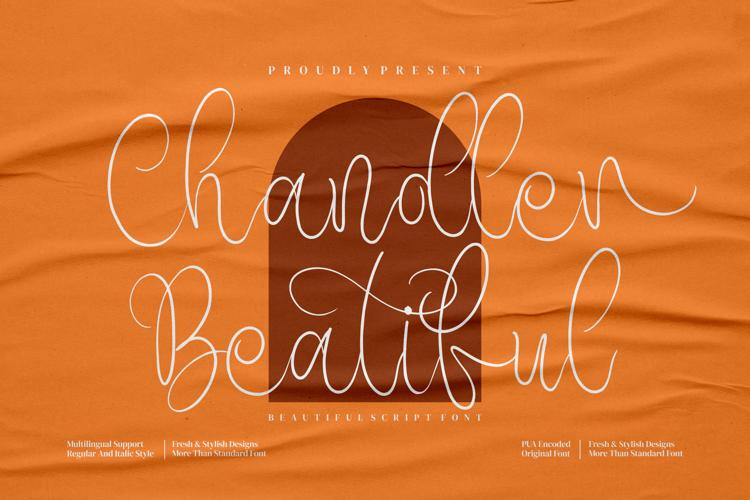 Chandler Beautiful Font