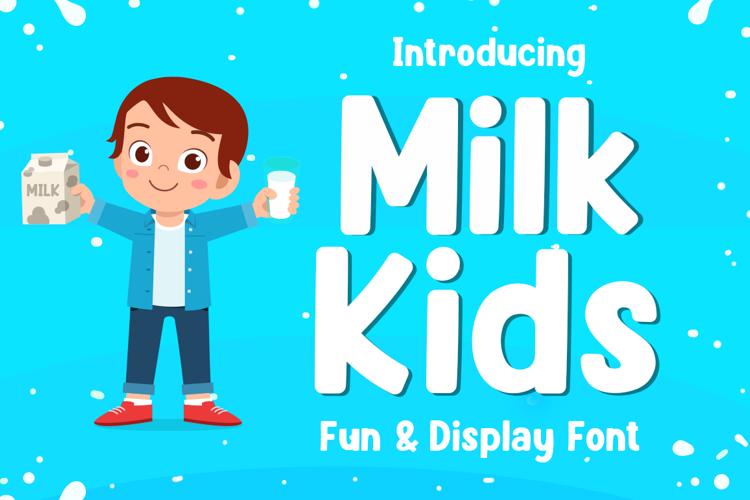 Milk Kids Font