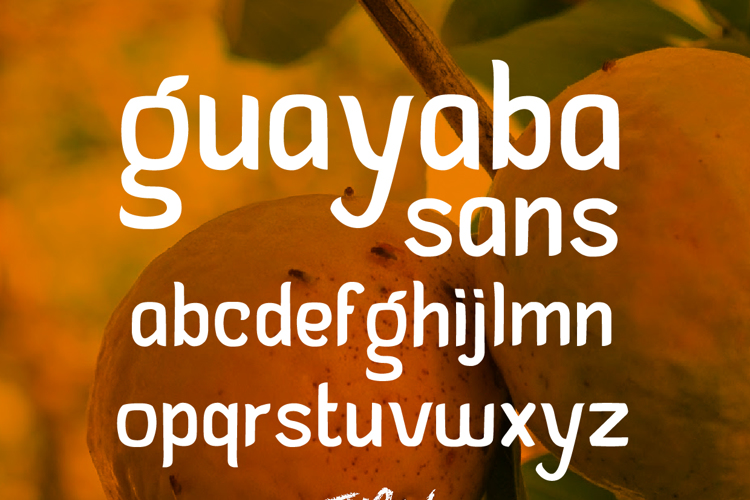 Guayaba Sans Font