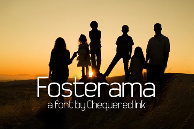 Fosterama Font