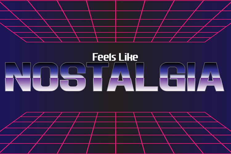 Feels Like Nostalgia Font